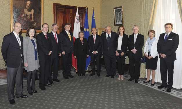 Board of European Consul's Union (F.U.E.C.H.) meets in Valletta, Malta