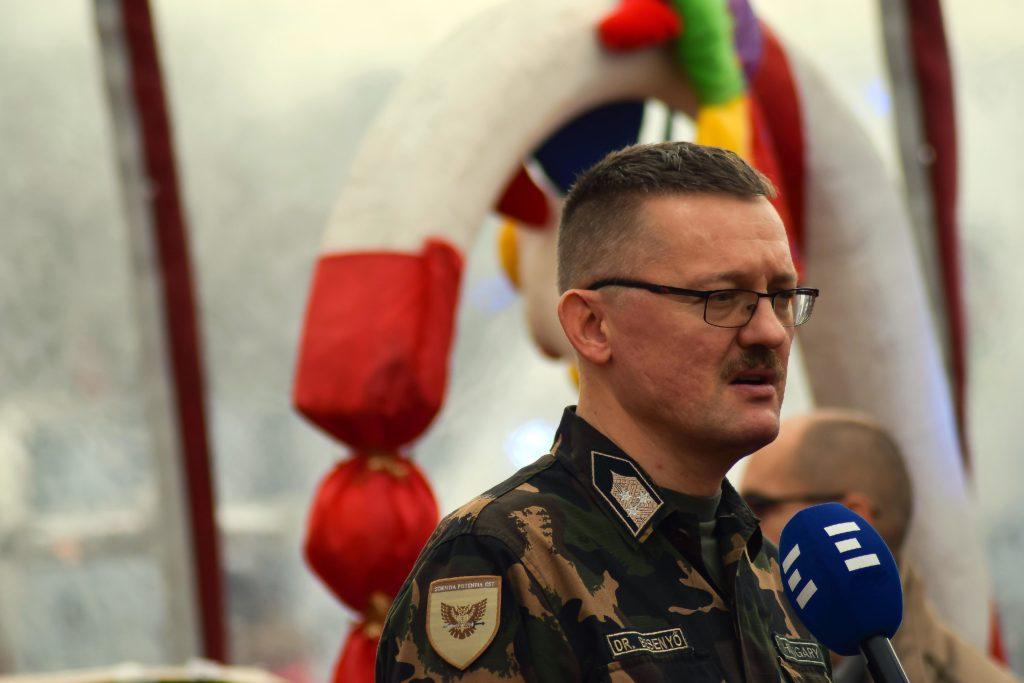 Colonel Janos Besenyo