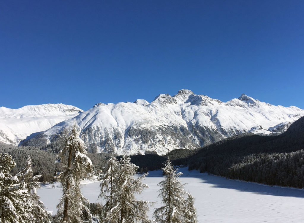 Sankt Moritz lake