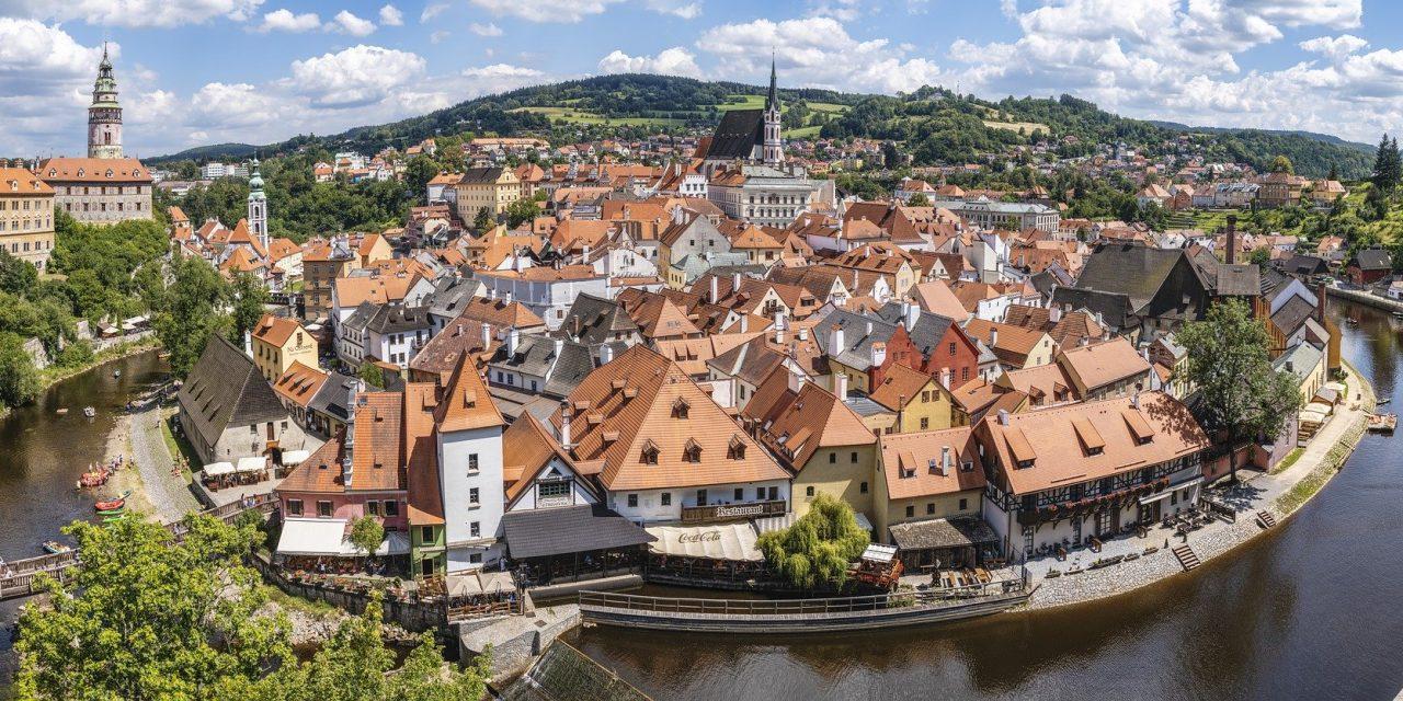 Cesky Krumlov, a town from fairy tales